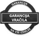 60 dnevna garancija na vse izdelke