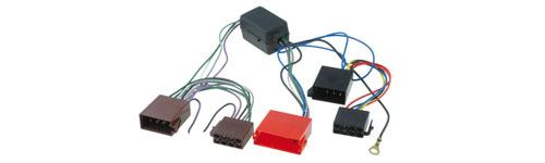 AUDI A3 A4 A8 Tt CD Radio arnés de cableado Telar Media Amplificado PC9-401 PC5-90