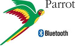 Parrot Bluetooth Logo